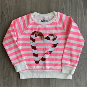 Crewcuts // Holiday Sweatshirt // 4T